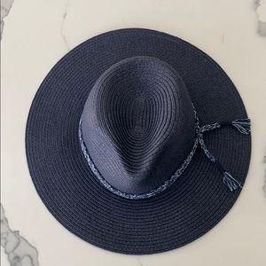 Brand New, Madewell Mesa, Navy Raffia Hat